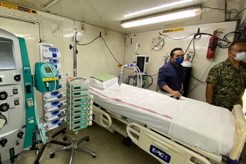 """Not only are military-built hospitals being deployed, """"field ICUs"""" are set to be rolled out in Penang."""