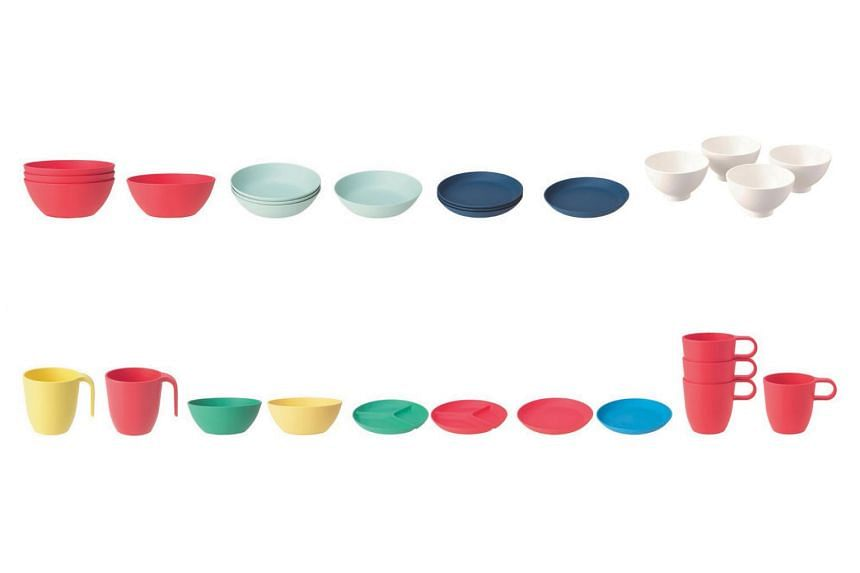 Ikea said the Heroisk and Talrika plates, bowls and mugs can break when used with hot food and potentially cause burns.