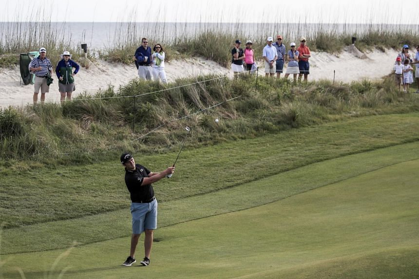 Jon Rahm during a practice round for the PGA Championshipat Kiawah Island, South Carolina, on May 17, 2021.