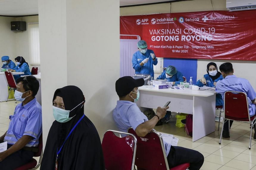 The private inoculation programme will complement Indonesia's free vaccines for the public.