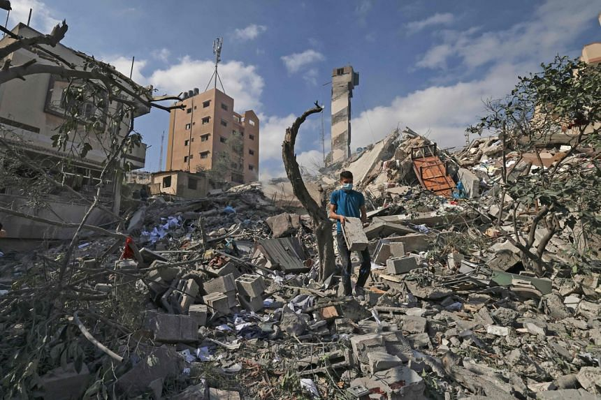 Humanitarian aid is urgently needed in the Gaza Strip after over a week of air strikes.
