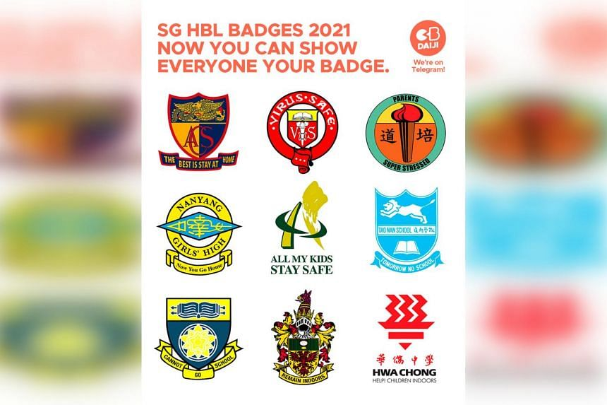 The school badge meme reached about 14,000 viewers in the first three hours since it was first posted on Facebook.