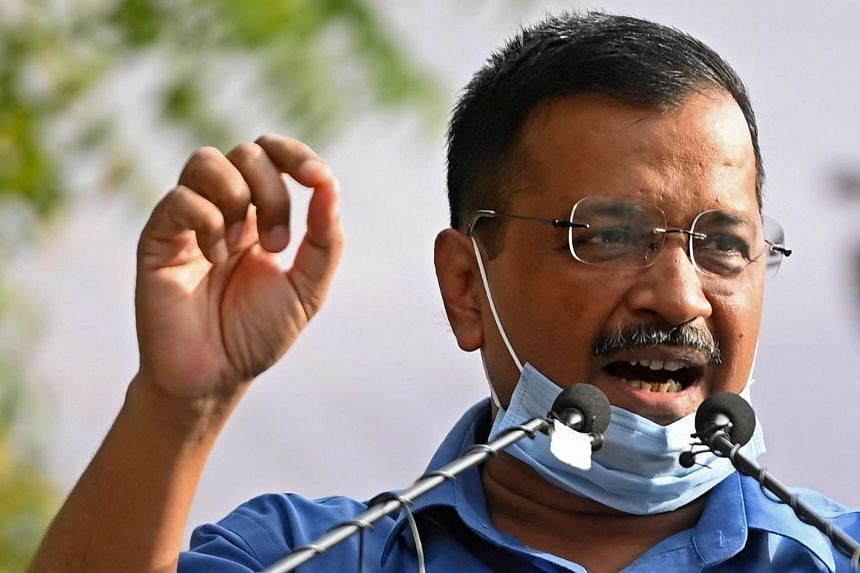"""Delhi Chief Minister Arvind Kejriwal had claimed that a """"Singapore variant"""" was particularly harmful to children and could cause a third wave of infections in India."""