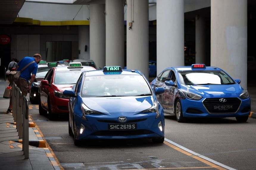 Taxi drivers and private-hire drivers reported a drop in earnings after the new restrictions kicked in.