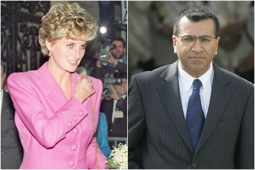 Princess Diana was interviewed by journalist Martin Bashir (right) in 1995.