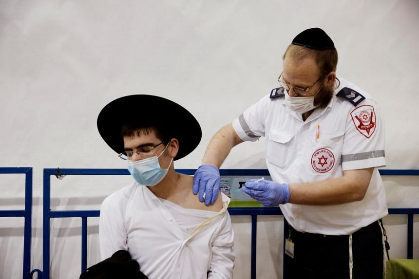 In countries such as Israel, new Covid-19 cases are declining as more people are vaccinated.