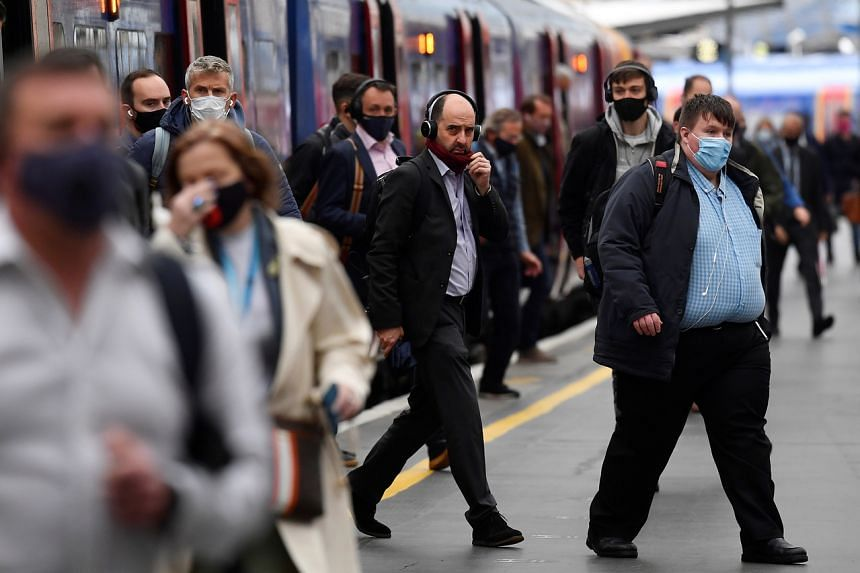 Passenger numbers on Britain's railways plunged more than 90 per cent at the height of the pandemic.