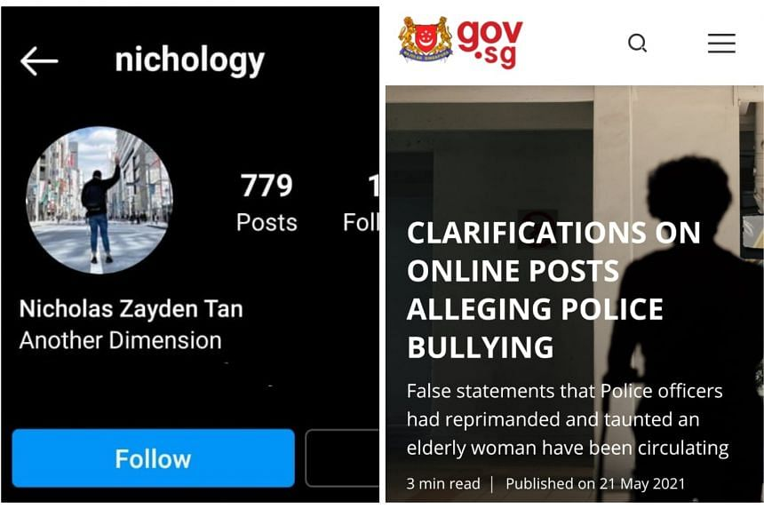 The Instagram story by @nichology alleged that police officers taunted and reprimanded a woman for not wearing a mask.