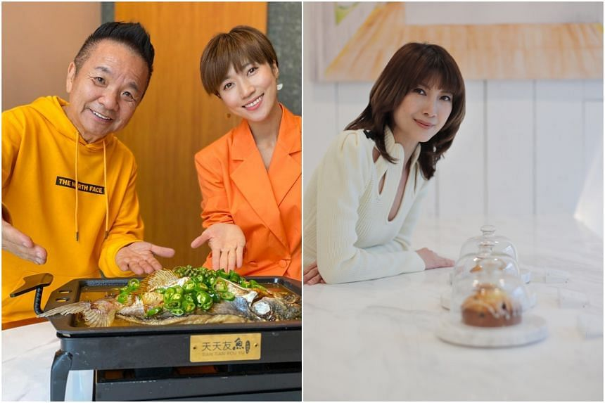 (From left) Marcus Chin, Kate Pang and Jeanette Aw opened new food and beverage outlets this month.