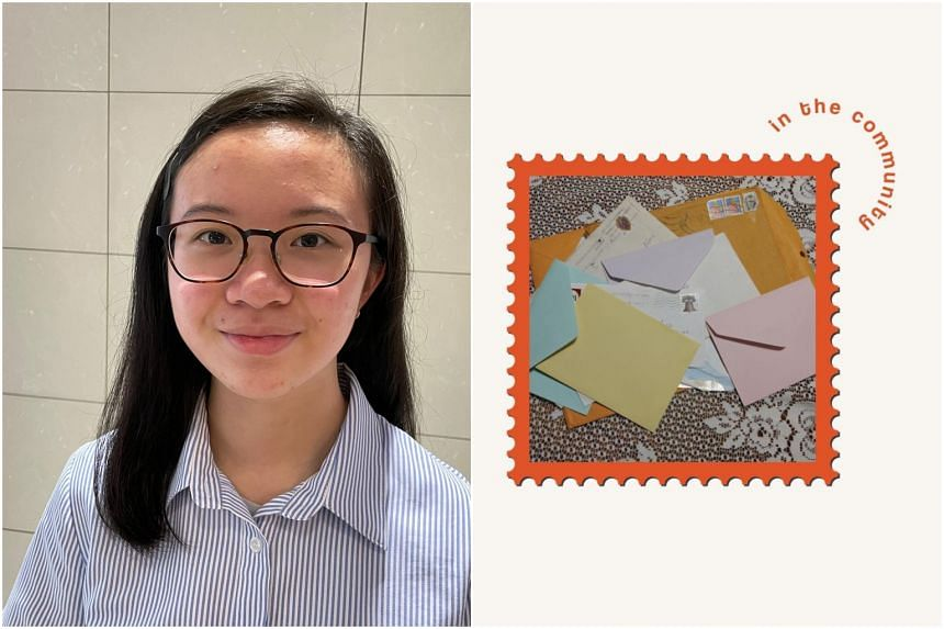 Clarisse Ng (pictured) found out about Penpals in the Community last October while scrolling through Instagram.