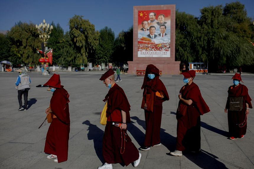 Beijing denies it breaches the human rights of Tibetan people.