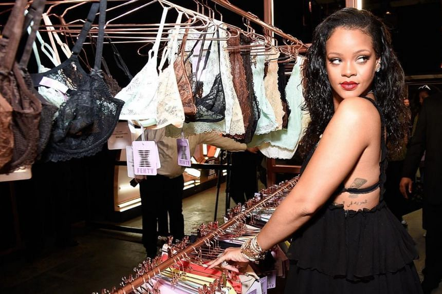 Pop star Rihanna's inclusive lingerie brand Savage X Fenty has sizes from XS to 3X.