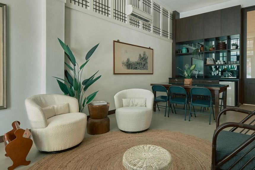 Kongsi House is a live-work experiment within a heritage shophouse in Jalan Besar.