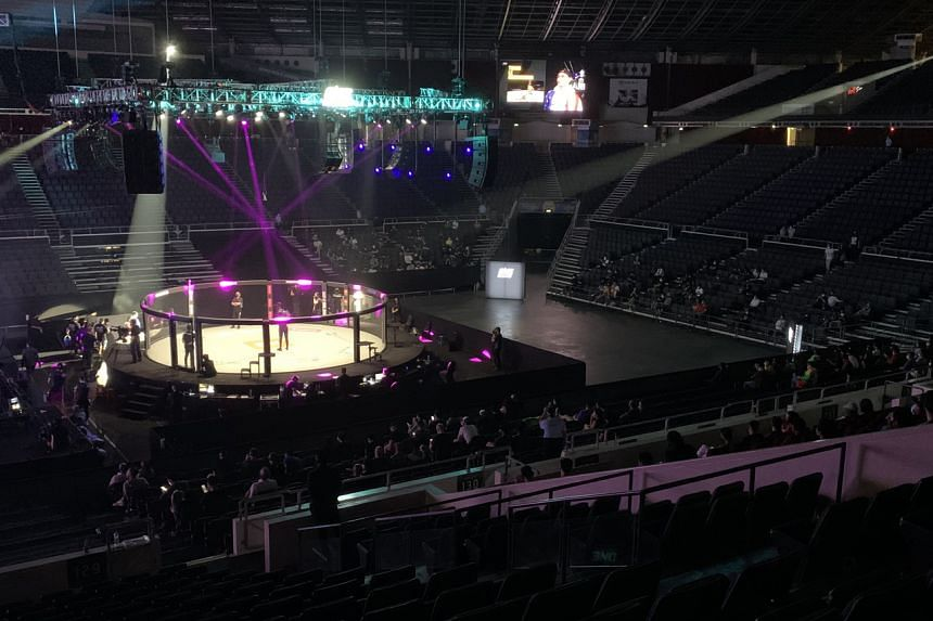 One Championship's Inside the Matrix event at the Indoor Stadium last October.