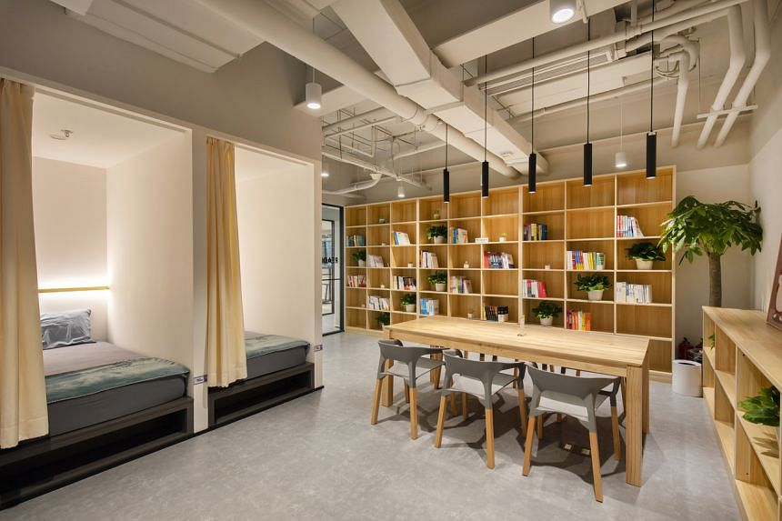 Private nap pods and libraries are some new features being incorporated into workplace design to elevate the well-being and mental wellness of employees.