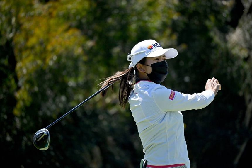Hsu Wei-ling finished her opening round with a clean scorecard.