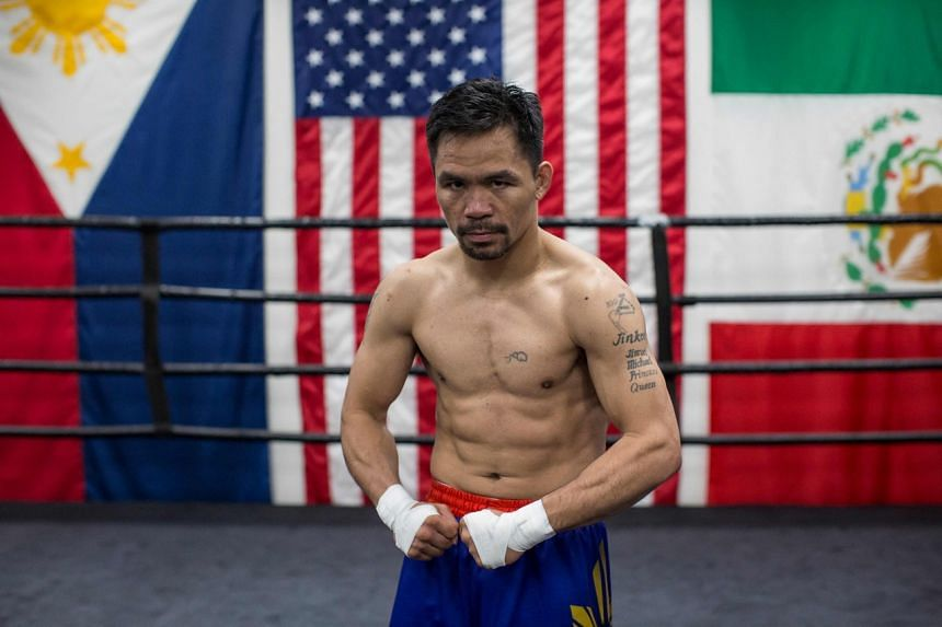 """Pacquiao said that the fight """"might be his last""""."""