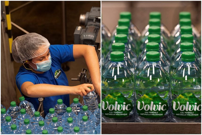The average flow rate at the Volvic source had fallen to 50 litres per second, far below the 470 litres per second measured in 1927.