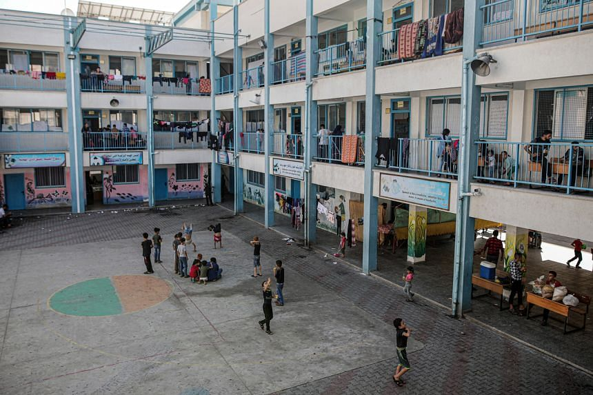 The UN warned of a potential surge of new cases as tens of thousands of Gazans took shelter in 50 UN-run schools.
