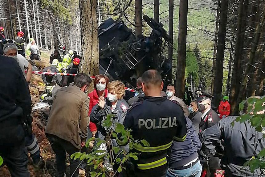 Two children had been transported by helicopter to a paediatric hospital in the northern city of Turin.