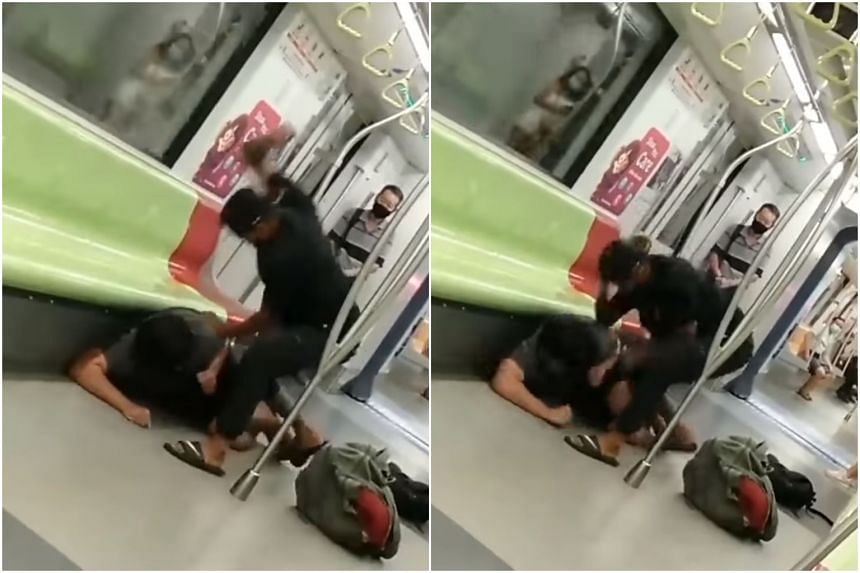A video of the incident showed the assailant raining blows on the victim on the ground.