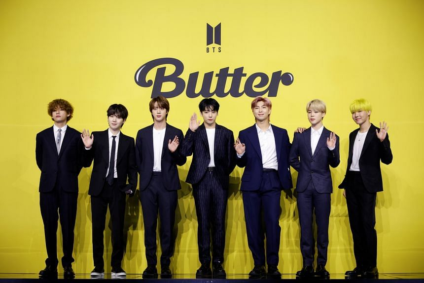 BTS' Butter debuted at No. 1 on iTunes' Top Songs chart in 101 regions.