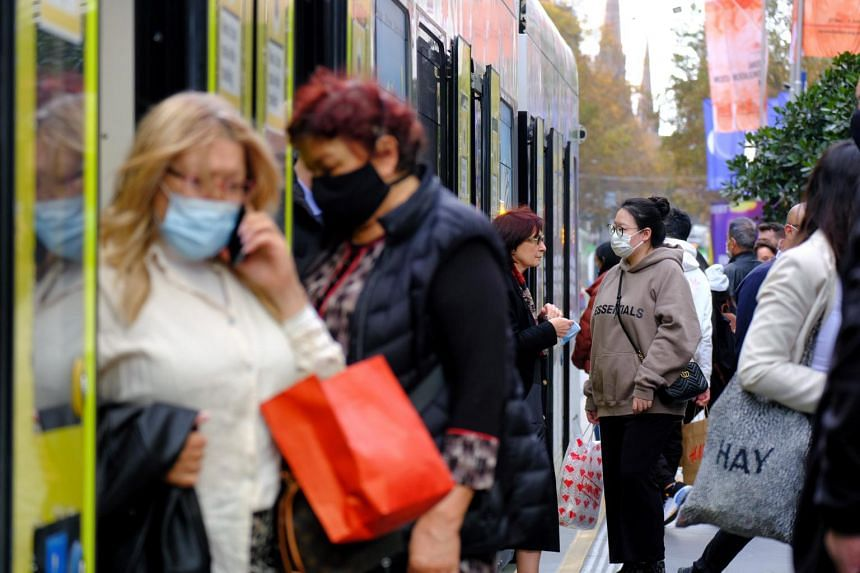 Melbourne has mostly contained the virus after having one of the world's longest and most stringent lockdowns last year.