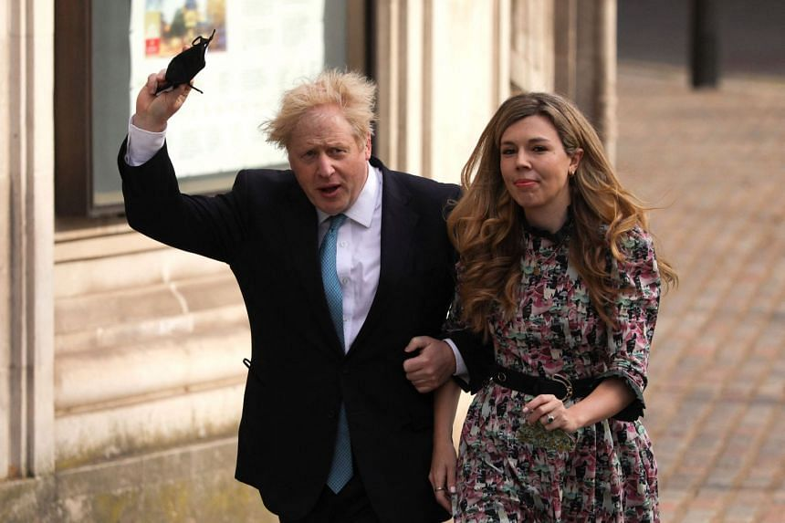 British Prime Minister Boris Johnson and his fiancee Carrie Symonds have sent wedding invitations to family and friends for July 30, 2022.