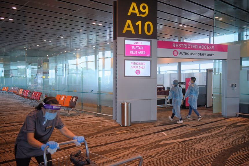 The latest measures come after Changi Airport Group conducted an investigation and operational analysis of the airport Covid-19 cluster.