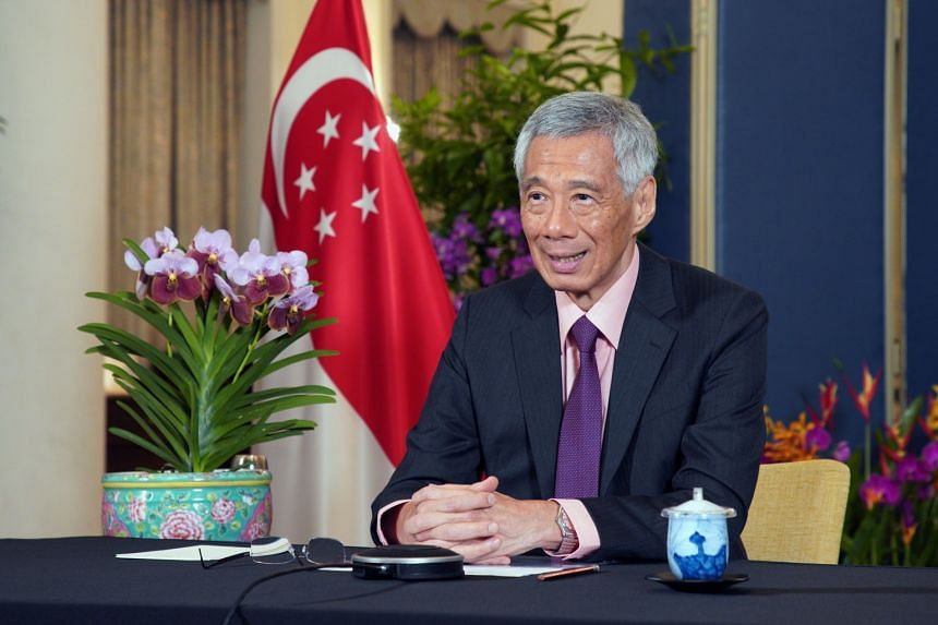 Prime Minister Lee Hsien Loong outlined four aspects of Singapore's Green Plan 2030 as an example of how Singapore is trying to build back in a sustainable way.