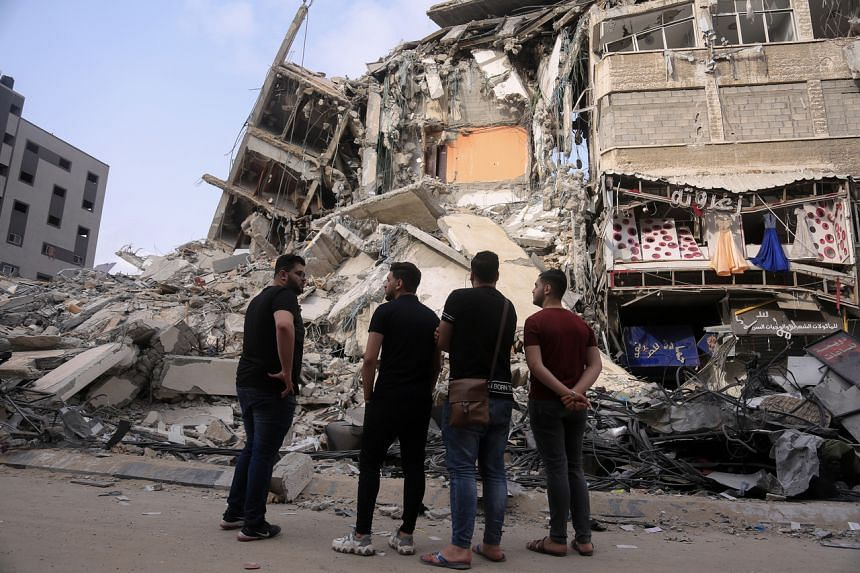 Palestinian officials put reconstruction costs at tens of millions of dollars in Gaza.