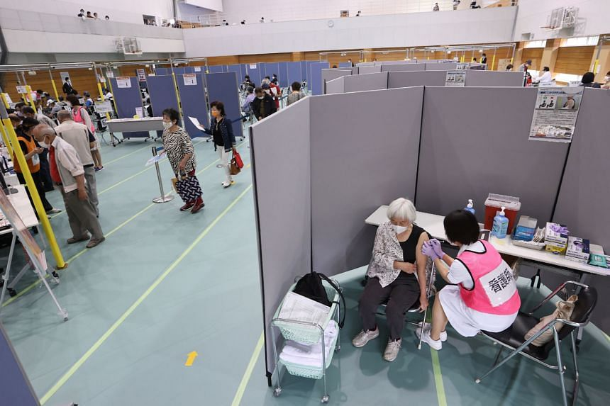 Large-scale inoculation sites operated by local governments also opened in the prefectures of Aichi, Miyagi, and Gunma.