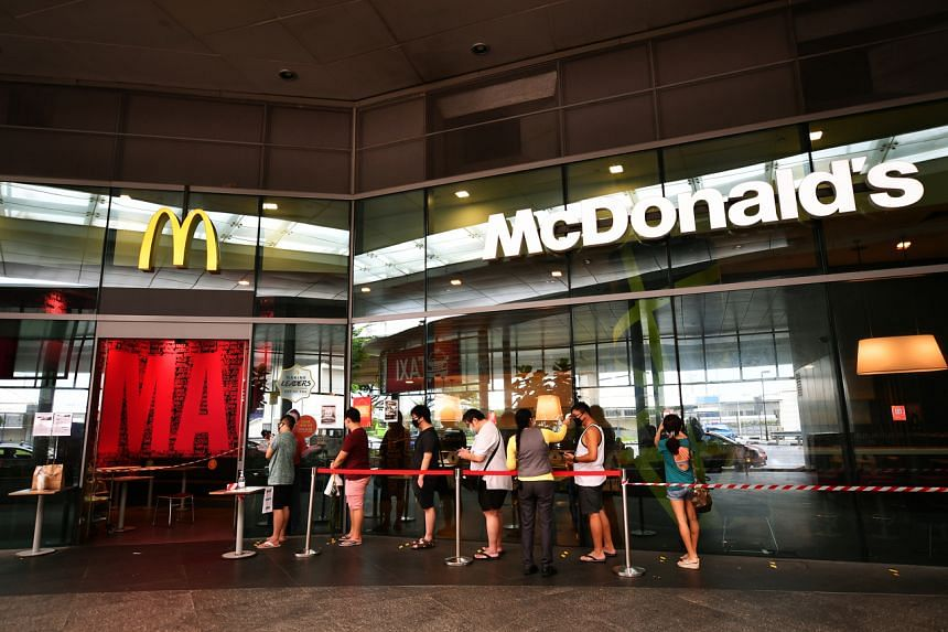 McDonald's had said last month Singapore was one of nearly 50 countries where its outlets would have the celebrity meal on the menu.