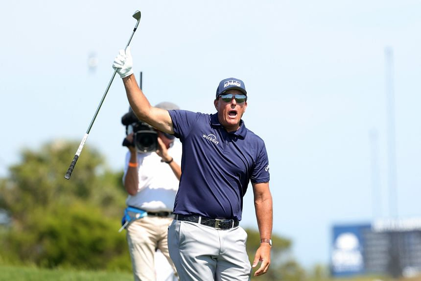 The victory by Phil Mickelson marked the sixth Major championship win of his career.