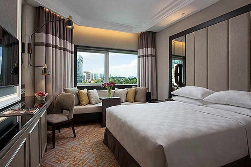 Orchard Hotel Singapore is within walking distance of malls such as Ion Orchard and Wisma Atria. Explore the surrounds of Village Hotel Bugis (above), such as the historic Kampong Glam district. Located at the gateway of Sentosa, Travelodge Harbourfr