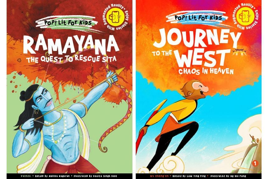 Ramayana (left) and Journey To The West (right).