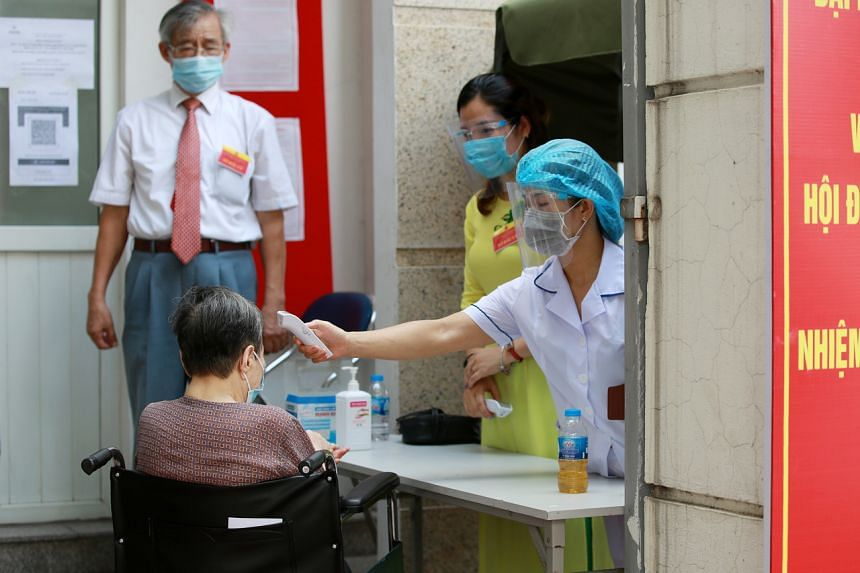 The Covid-19 outbreak in Vietnam has spread to more than 30 of its 63 cities and provinces.