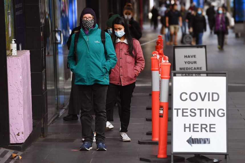 Australia's second-biggest city is scrambling to contain a growing coronavirus outbreak, with 15 cases identified so far.