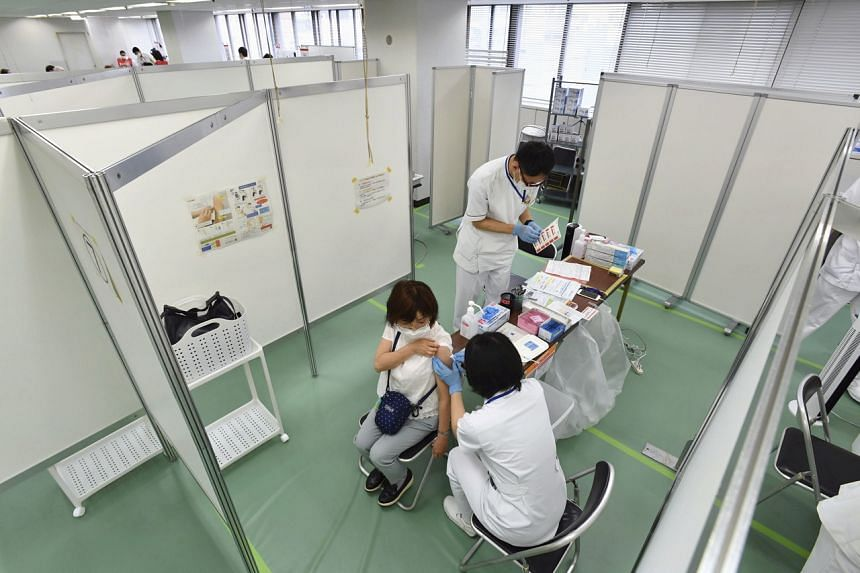 Tokyo-listed Nipro said the contract was for filling the shot into vials and packaging it.