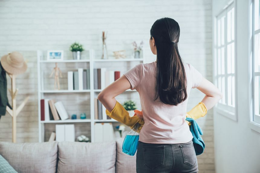 The researchers say it could be because they had to take on more than their fair share of housework, among other stressors.