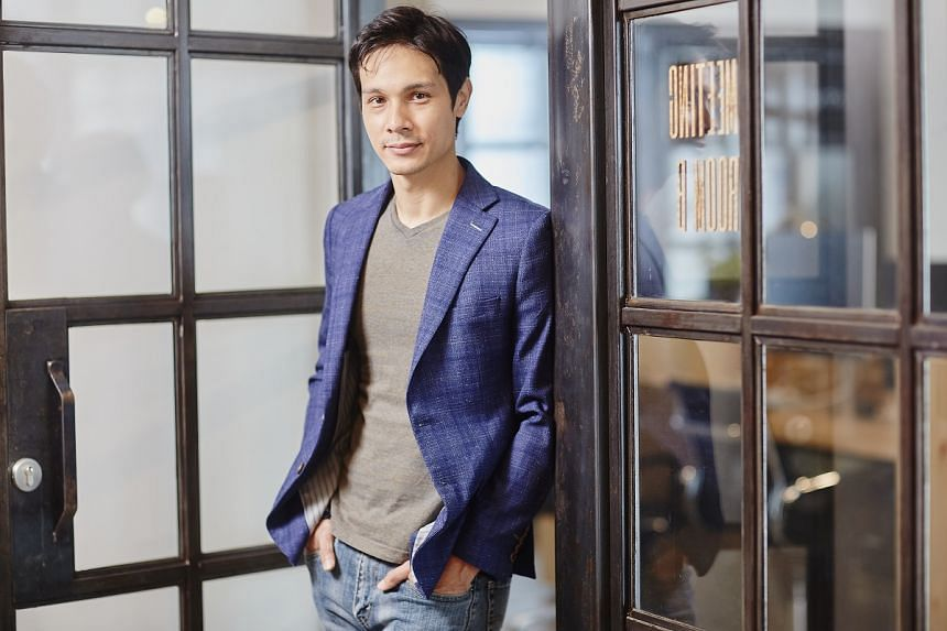 After graduating in 2008 with a psychology degree from James Cook University in Singapore, Mr Kai Reuber went on to start a people analytics company, Mercurics. PHOTO: TED CHEN