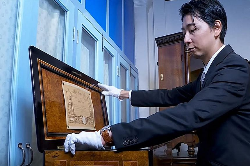 Singapore Musical Box Museum owner Takumi Minami is Japanese but passionately believes in his work of highlighting the Republic's important role in the development of music boxes in the region.