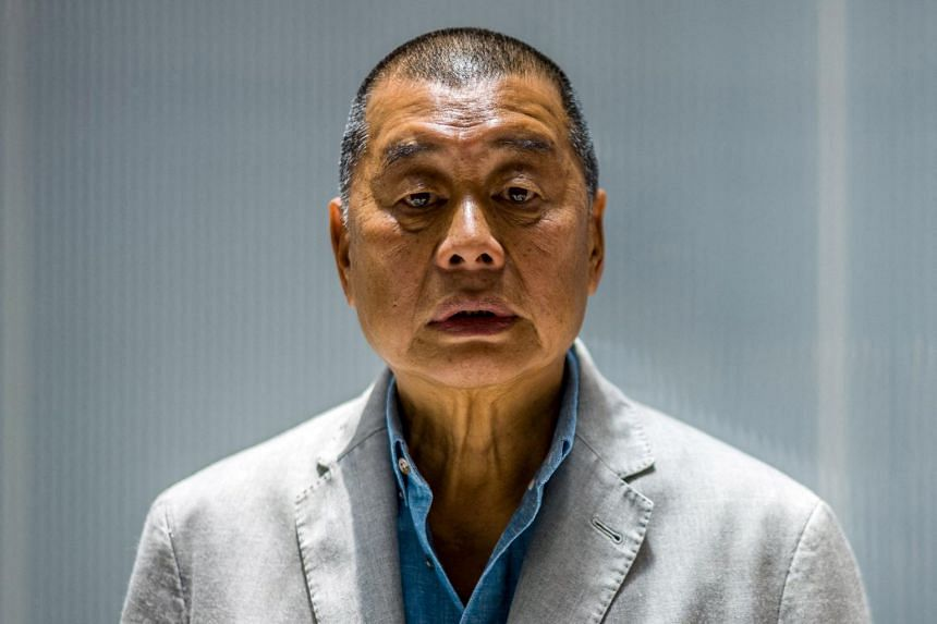Media tycoon Jimmy Lai has been in jail since December after being denied bail in a separate national security trial.