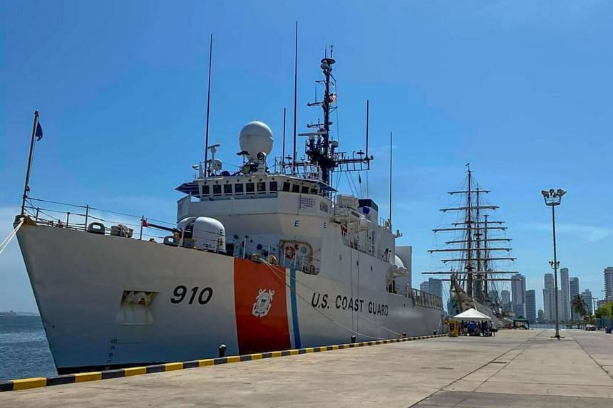 Eight survivors were pulled from the water 29km south-west of Key West by crew members of a Coast Guard cutter on patrol.