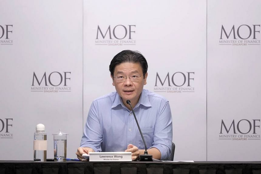 Finance Minister Lawrence Wong was asked during a press conference how Singaporeans might go about their daily lives in the coming years.
