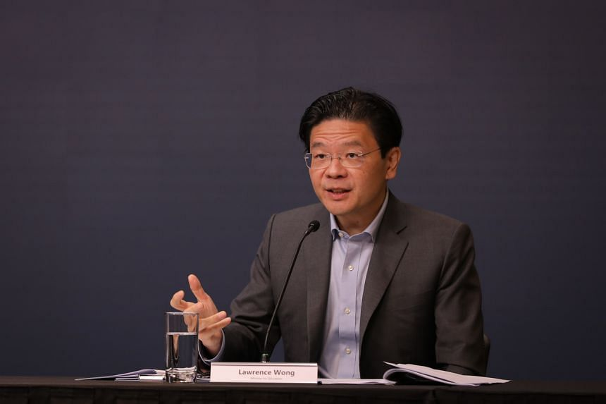 Finance Minister Lawrence Wong will serve as a member of the MAS board for a term of three years from June 1, 2021 to May 31, 2024.