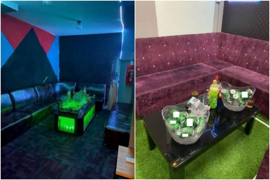 Twenty-one men and eight women had allegedly consumed alcohol and socialised within the Paya Lebar office unit.