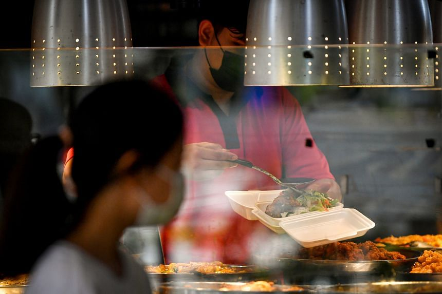 Eateries say while a handful of customers have brought their own containers when buying food in recent months, most do not.