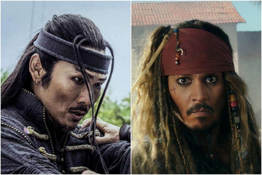 Both characters sport similar eye make-up and hair braids.
