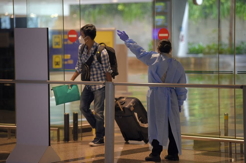 The move will help to protect front-line staff at the airport and could help to ease the load on Singapore's healthcare system.
